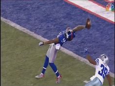 Odell Beckham Jr. <-- That youngin' is ridiculous! Absolutely ridiculous! Love it!