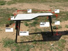diy plans shooters bench - Google Search