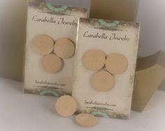 Essential Oils Locket - Leather Diffuser Refill packs (3 per pack) 219904A