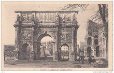 ROMA -ARCO DI COSTANTINO VG 1920 BELLA FOTO D´EPOCA ORIGINALE 100% - Roma