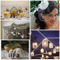 Bird Themed Wedding / For The Birds « David Tutera Wedding Blog • It's a Bride's Life • Real Brides Blogging til I do! Keywords: #weddings #jevelweddingplanning Follow Us: www.jevelweddingplanning.com  www.facebook.com/jevelweddingplanning/