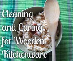 Cleaning and Caring for Wooden Kitchenware - Primal Mama