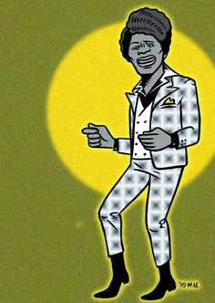 James Brown /  artwork by Amore Hirosuke