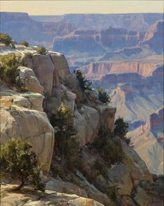 Jackson Hole Art Auction: Overlooking the Grand Canyon
