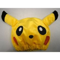 For Pokemon Pikachu fan!    What a wonderful amazing fantastic gift for your friends and yourself! So cute and ingenious!    The hat is made of fleece cotton! The size is adjustable for adults and kids!
