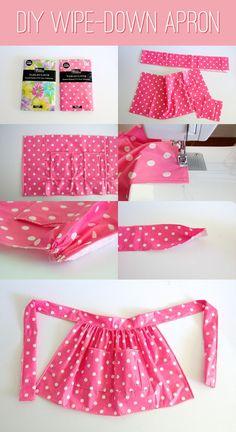 Con nuestras mini máquinas de coser haz tu propio delantal, encuentralo aquí: www.lareinamerceria.com