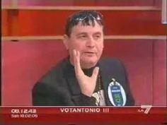 OMNIBUS LA 7 OSPITA IL  MASCHIO 100% SCONTRI EPICI- POLITICA VERA--SALVA...