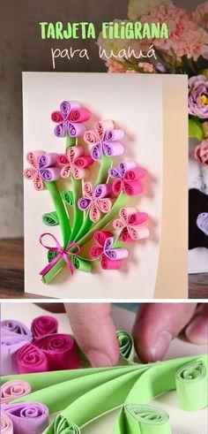 Este día de las madres consiente a esa persona tan especial regalando un lindo detalle que además de ser muy original es muy fácil de hacer y muy lucidor.
