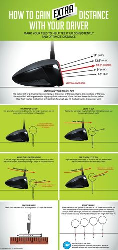 How to gain distance with your driver. Golf tips.