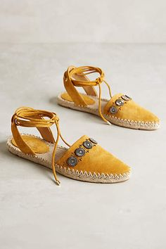 Belle by Sigerson Morrison Maia Espadrilles - #anthrofave