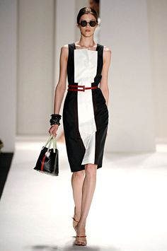 A look from the Carolina Herrera Spring 2012 RTW collection.