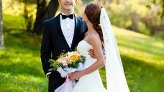 Find out how to plan a black tie wedding on SHEfinds.com.