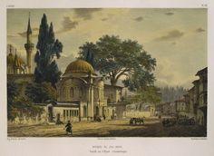 Old Istanbul illustrations Monuments, Istanbul, Turkey Art, Jean Baptiste, Southern Italy, Ottoman Empire, Orient, City Art, Ancient Art
