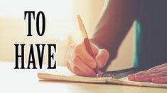 Usando o verbo TO HAVE para fazer frases afirmativas, negativas e pergun...