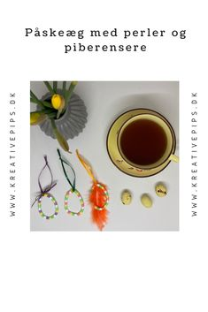 Jeg har lavet de her fine pastelfarvede påskeæg med perler og piberensere. De kan varieres i farver, og det er kun fantasien, som sætter grænsen. Perler, Hama Beads, Flowers, Hama Bead