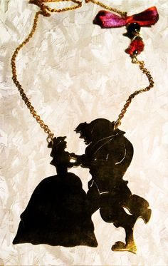 Beauty and the Beast necklace by DoreeenkaJewellery on Etsy, Ft6000.00