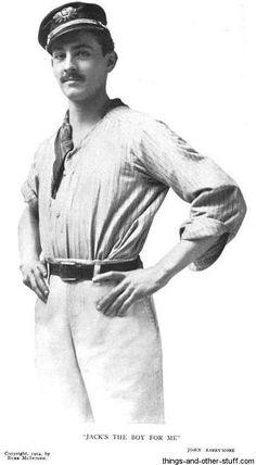 John Barrymore, age 22