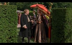 Vatel Costumes - wish my hedges looked like this (Vatel, 2000) here with Depardieu and Uma Thurman