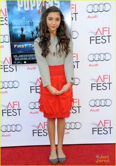Rowan Blanchard at Mary Poppins' Screening  AFI Fest 2013