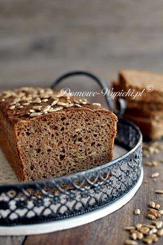 Chleb pełnoziarnisty ze słonecznikiem