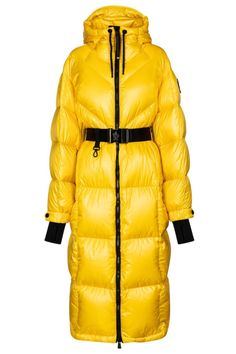 From 3 MONCLER GRENOBLE by Moncler Genius, the Mandriou down coat is exclusive to Mytheresa in bright yellow. Designed for high-altitude leisure use, it's extremely lightweight and breathable, yet supremely warm – it's insulated with down fill, equipped with a hood, and has a maxi length for full coverage. Make yours the focal point of an apès-ski look. #mytheresa #moncler #monclerdowncoat #skioutfit #designskioutfit #monclergrenoble #apresskidowncoat Ski Outfits, Down Coat, Bright Yellow, Moncler, Fill, Luxury Fashion, Winter Jackets, Warm, Shopping