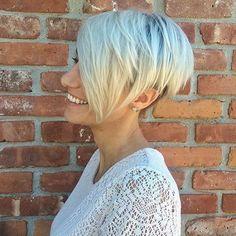 Love this cut! Thanks @sumofallshears #pixie #undercut #pixiecut #shorthair