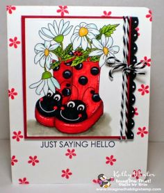 Card by Kathy Winter for Imagine That.... digis by Kris