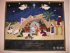 Image result for nativity wall hagning felt