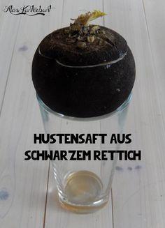 Ala's Kunterbunt - Hustensaft aus schwarzem Rettich #Hausmittel #Hustensaft #Pflanzenheilkunde
