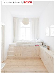 maximize a small space bright bedroom