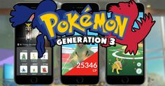 Gen 3 Raid Bosses #pokemon #pokemongo #pokemoncommunity #shinypokemon