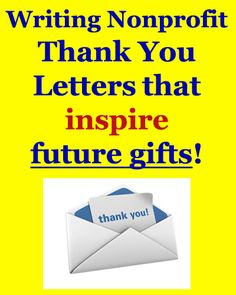 Donation Thank You Letter  Thank You Letters To Your Donors Are