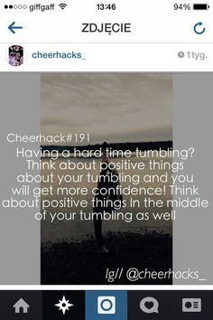 Also follow @cheerhacks_ on Instagram. They have great cheer hacks too. -Olivia