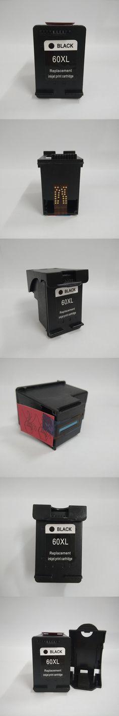 1pcs CC641WN Black  Ink Cartridge For HP 60 60 XL for hp DeskJet D2530 D2560 F4280 PhotoSmart C4600 C4680 Printer for hp60