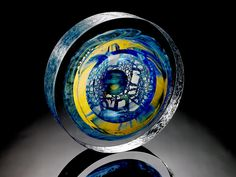Steven Weinberg Steven Weinberg, Art Of Glass, Art Portfolio, Wind Chimes, Art Museum, Sculptures, Carving, The Incredibles, Antiques