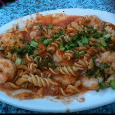 Cajun shrimp pasta- NOLA!!!