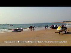 INDIVUE: Video Goan Sinquerim Beachista turistikauden aikaan