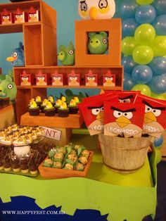 HAPPY FEST: ANGRY BIRDS PARTY