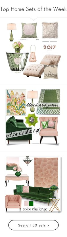 """Top Home Sets of the Week"" by polyvore ❤ liked on Polyvore featuring interior, interiors, interior design, home, home decor, interior decorating, Zephyr, Kartell, Abbyson Living and PBteen"
