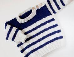 Ravelry: Set Sail pattern by Sarah Cooke Baby Cardigan Knitting Pattern Free, Baby Boy Knitting Patterns, Knitting For Kids, Baby Patterns, Pull Bebe, Knit Baby Sweaters, Set Sail, 10 Years, Kids Coats