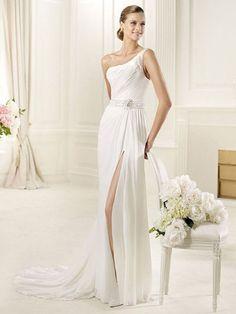 Bonnie-Vestido de Noiva em tecido de seda - dresseshop.pt
