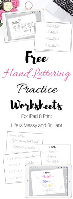 hand lettering practice, hand lettering worksheets, iPad lettering Plastic Text begun that Brush Lettering Worksheet, Hand Lettering Practice, Hand Lettering Styles, Hand Lettering Tutorial, Hand Lettering Alphabet, Hand Lettering Fonts Free, Lettering Ideas, Lettering Art, Creative Lettering