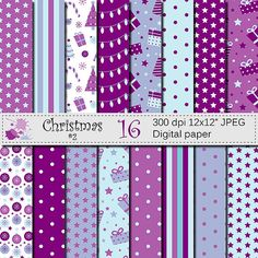 Hey, I found this really awesome Etsy listing at https://www.etsy.com/listing/252366157/christmas-digital-paper-set-christmas