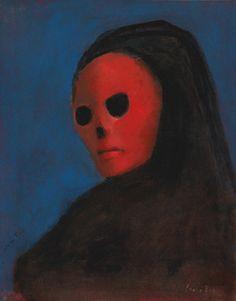 Leonor Fini - La Masque de la Mort Rouge, 1987