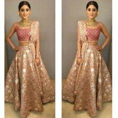 Shivangi joshi #shivangijoshi naira #yrkkh #starplus Pakistani Formal Dresses, Indian Gowns Dresses, Bridal Dresses, Stylish Dress Designs, Stylish Dresses, Fashion Dresses, Ethnic Outfits, Indian Outfits, Indian Designer Outfits