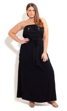 City Chic MAXI MISS UTILITY - Women's Plus Size Fashion
