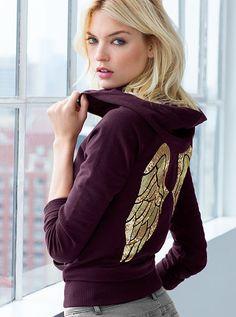 Fleece Hoodie - Supermodel Essentials - Victoria's Secret