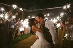 sparkler send off, barn wedding, farm wedding, Eden Luquire Photography, The Barn at High Point Farms