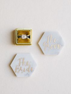 Engagement Rings 2017/ 2018   Marble wedding decor: Photography: Tenth and Grace  www.tenthandgrace