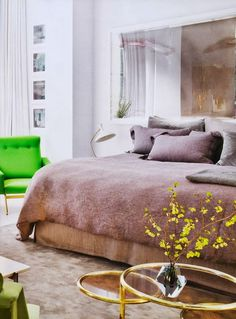 Contemporary colorful eclectic home | Daily Dream Decor